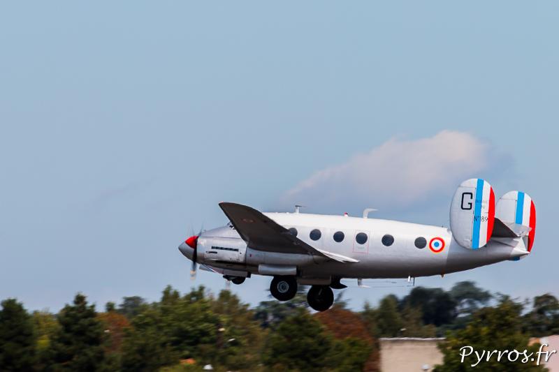 Le Marcel Dassault N°189 s'envole dans le ciel de Toulouse