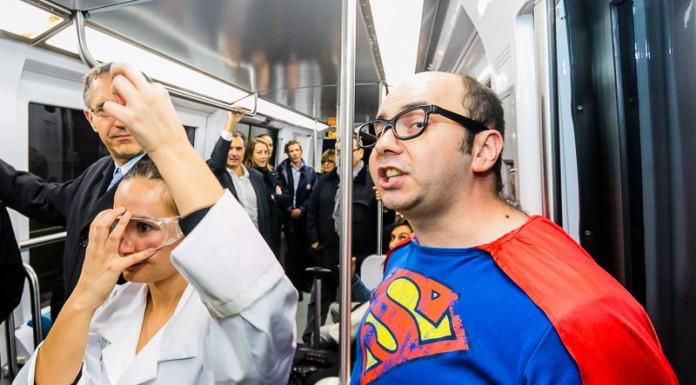 Super Métro annonce les consignes de sécurité aux passagers