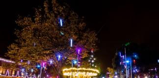 Le square de la Place Wilson brille de milles feux