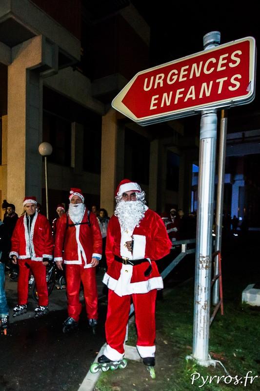 Les Pères Noël de Purpan