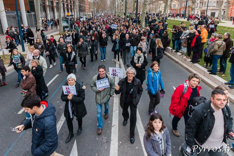 A Saint Michel la foule est toujours nombreuse, le parcours a été modifié