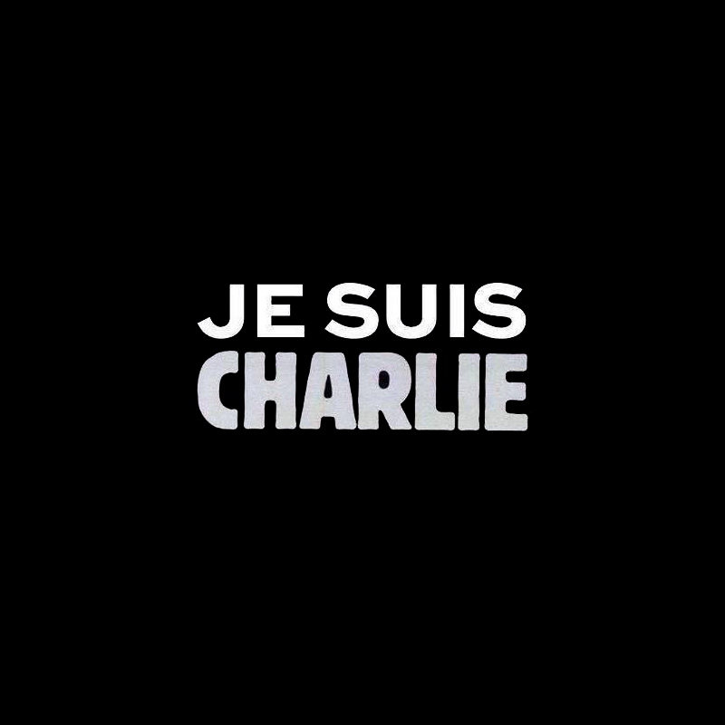 Je suis Charlie, Hommage à Charlie Hebdo (Illustration : Joachim Roncin)