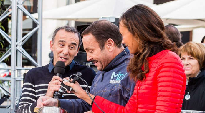 Elie Semoun chahute avec Vincent Ferniot au sujet de son ex-comparse Dieudonné à cause d'un ananas du Bénin