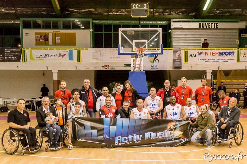 L'équipe du Toulouse Iron Club lors du Tour préliminaire de la Coupe d'Europe