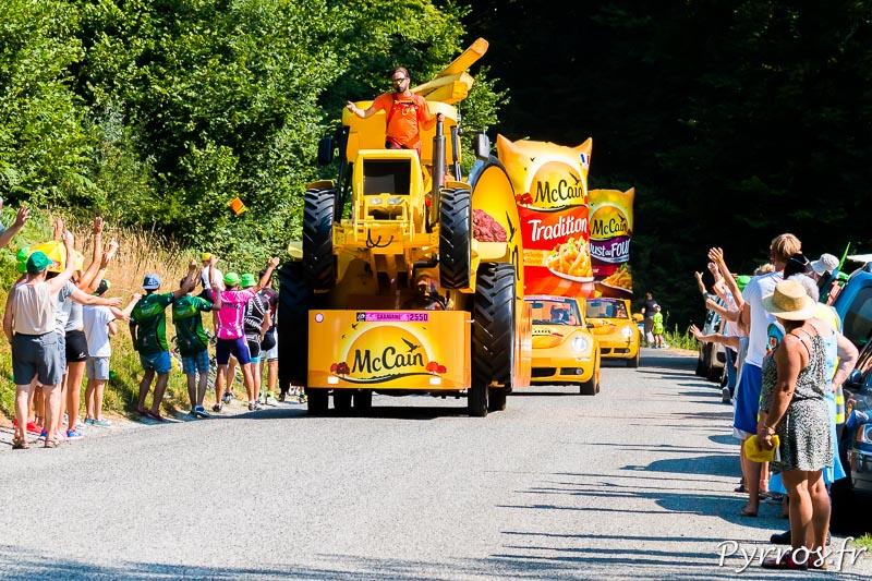 Caravane du Tour de France 2015, Mc Cain