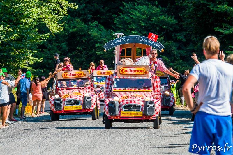 Caravane du Tour de France 2015, Les deuch' de Cochonou