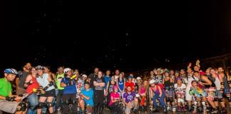 165 patineurs ont pris le départ de la randonnée plage de Roulez Rose