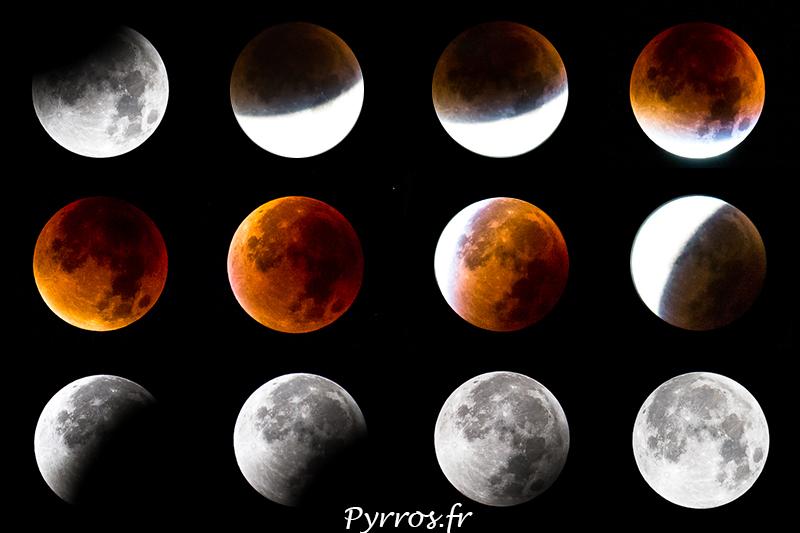 L'éclipse de Lune en Chapelet