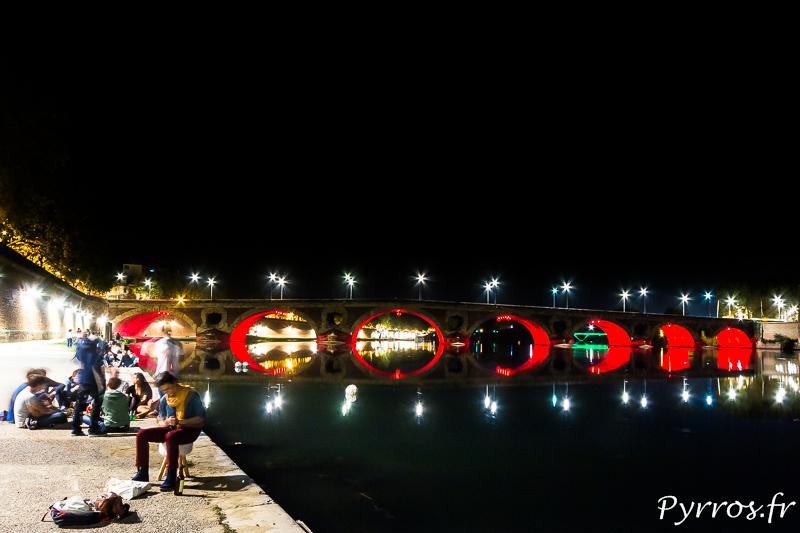 Le Pont Neuf illumine les soirée toulousaines
