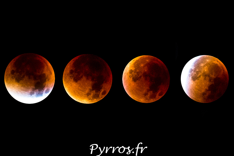 Chapelet d'éclipse de lune