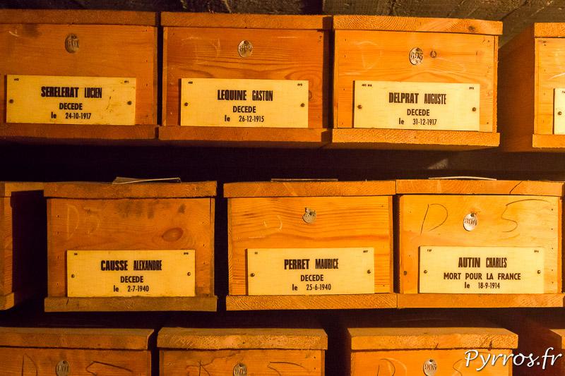 Les étagères de ce mausolée abritent 1706 personnes