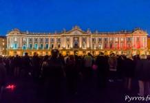 Toulouse observe une minute de silence après les attentats Islamistes du vendredi 13 novembre
