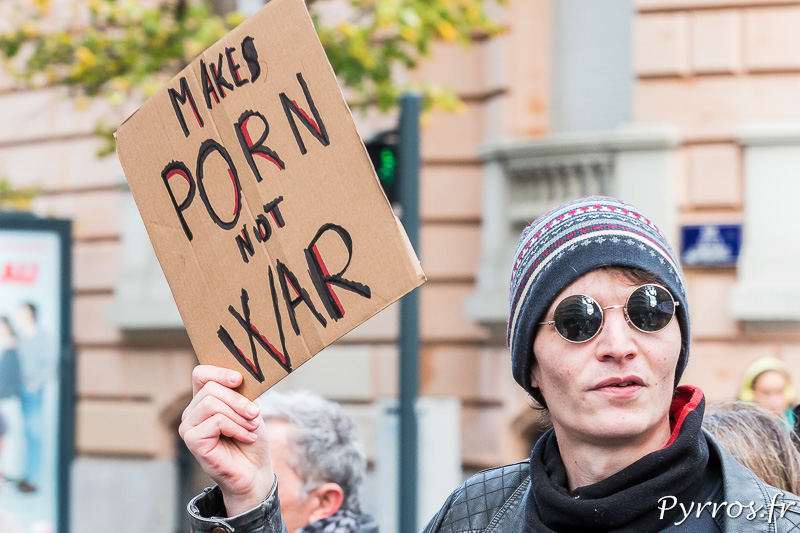 Make porn not war