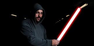 Simuler un sabre laser de StarWars avec photoshop
