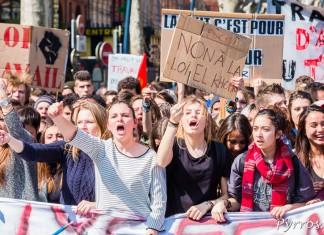 Les lycéens ne veulent pas de la loi El Khomri