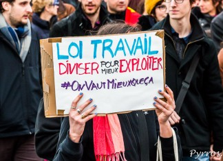 Les manifestants dénoncent les conséquences d'une telle loi