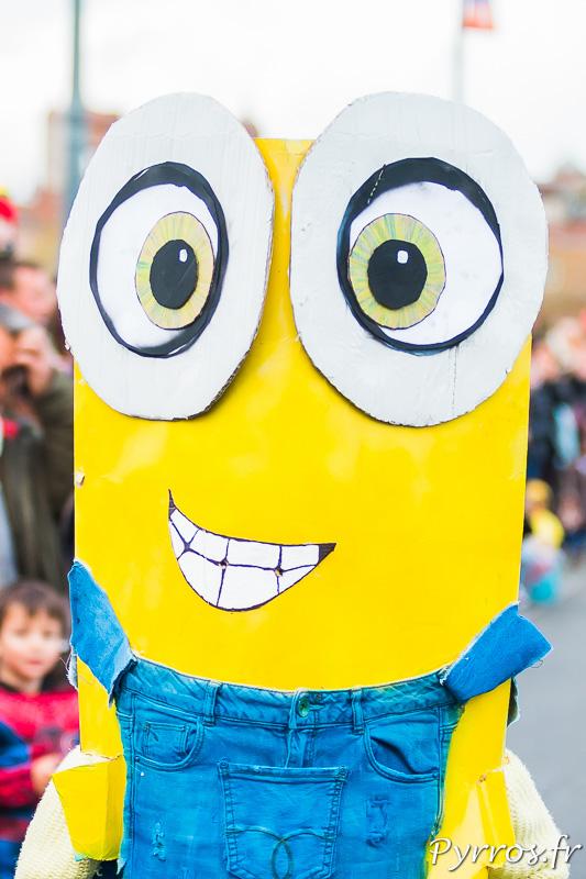 Un des nombreux minions présents lors Grand Carnaval de Toulouse