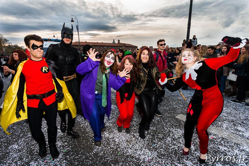 Batman et ses copines sont présents lors du Carnaval 2016 de Toulouse