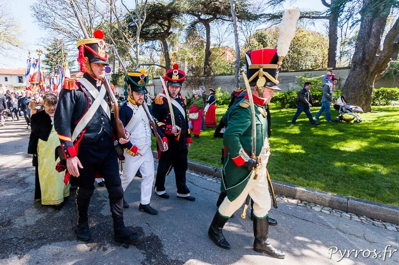 Quand on habite en haut de la rue du 10 avril on ne se rend pas compte de la difficulté des déplacements des soldats en 1814