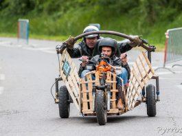 Push Car dans la descente de Pech David à Toulouse