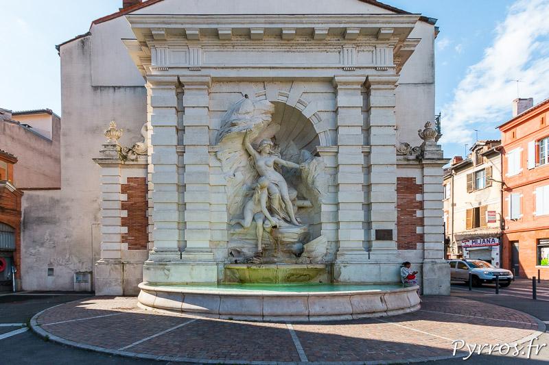 Fontaine Ariège Garonne à Toulouse