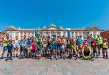 60 patineurs ont pris le départ de la rando pistolet à eau proposée par Roulez Rose