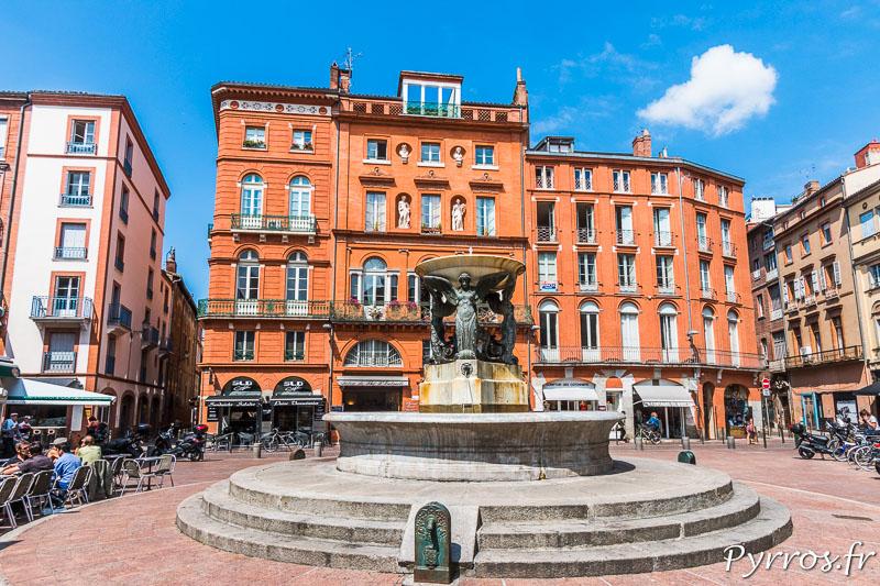 Fontaine de la Trinité à Toulouse