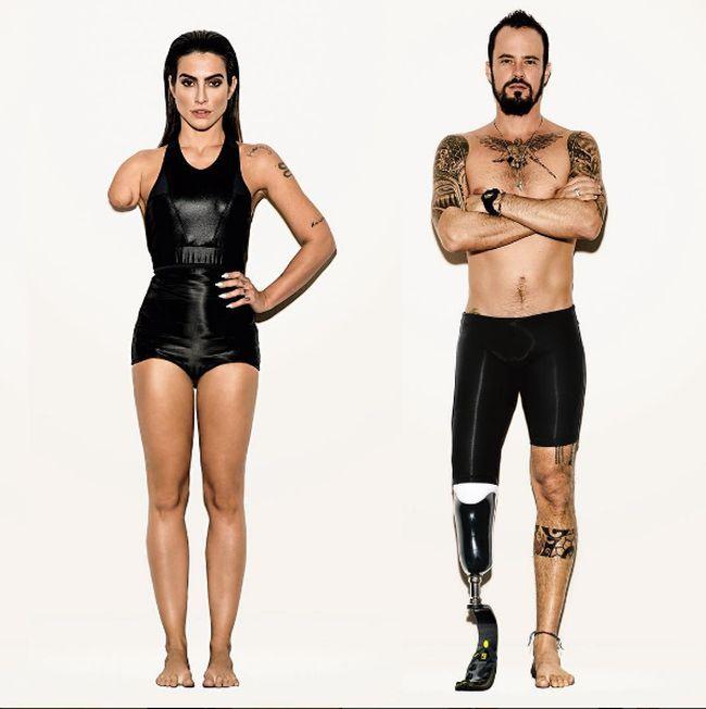 Au lieu de choisir des sportifs participants aux Jeux Paralympiques, Vogue a décidé de faire poser des mannequins et les faire paraitre handicapés en modifiant la photo dans photoshop
