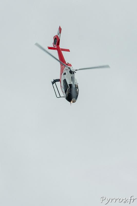 Eurocopter EC-120 B Colibri en prise de vitesse