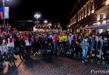 Plus de 300 personnes ont pris le départ de la randonnée des Jeux du Roller