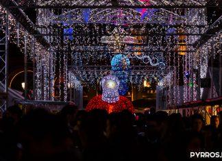Le Père Noël illumine les allées du Marché de Noël de Toulouse
