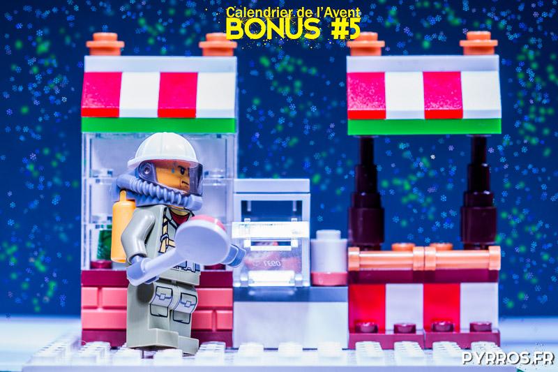 Calendrier de l'avent Lego 60133, Photo bonus : Le Marché de Noël