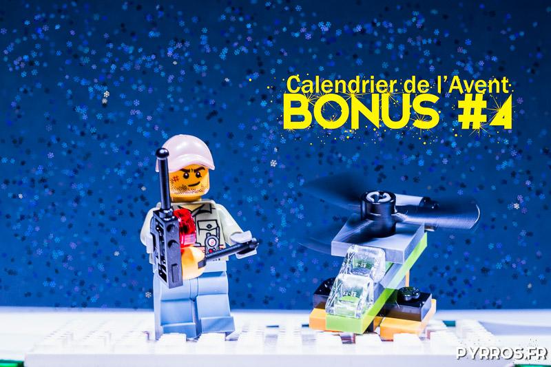 Calendrier de l'avent Lego 60133, Photo bonus : Le Pilote de Drone