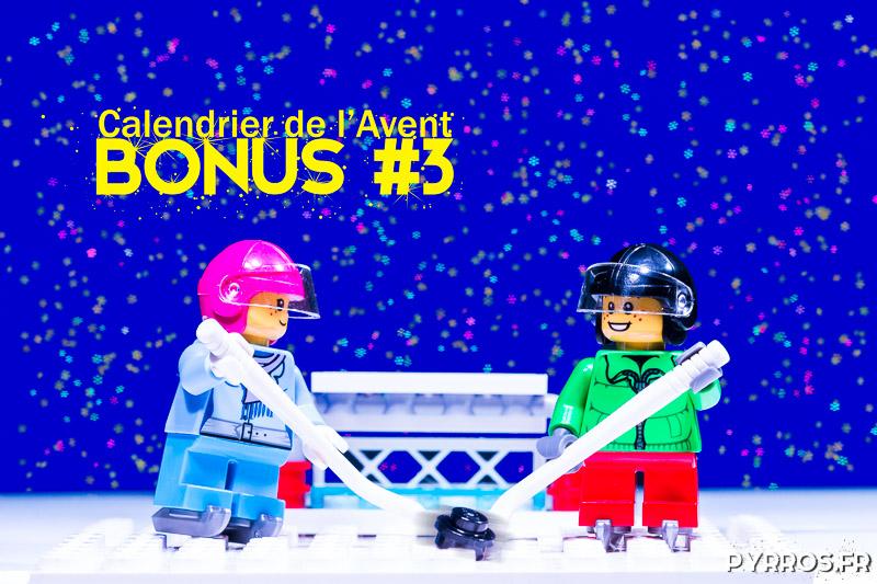 Calendrier de l'avent Lego 60133, Photo bonus : Les joueurs de Hockey