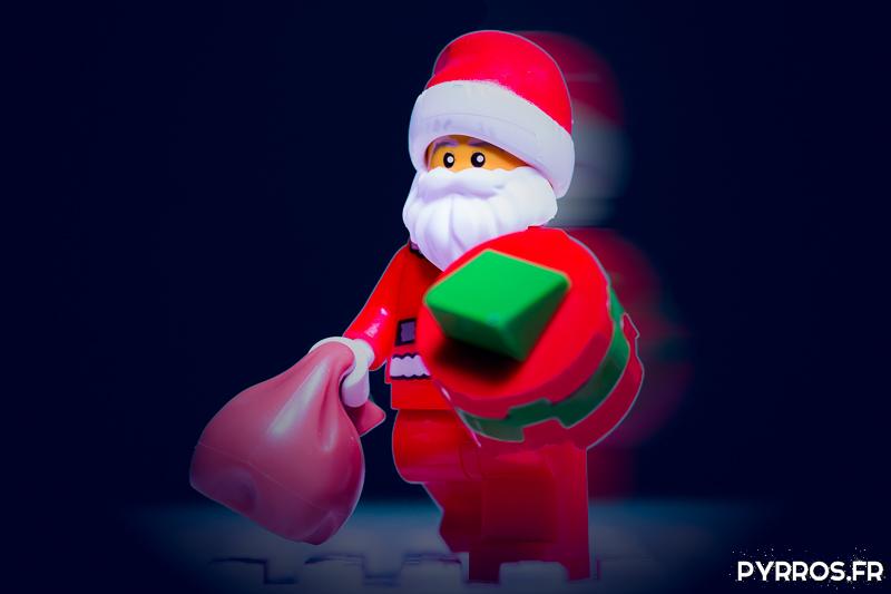 Faire des photos du Père Noël