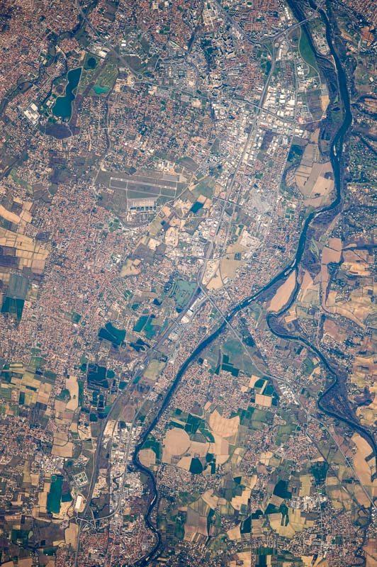 La piste de Francazal a retenu l'attention de Thomas Pesquet qui est actuellement à bord de l'ISS