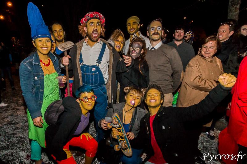 Les personnages des Simpsons sont présents au Grand Carnaval de Toulouse