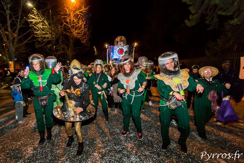 Mars Attacks le Grand Carnaval 2017 de Toulouse