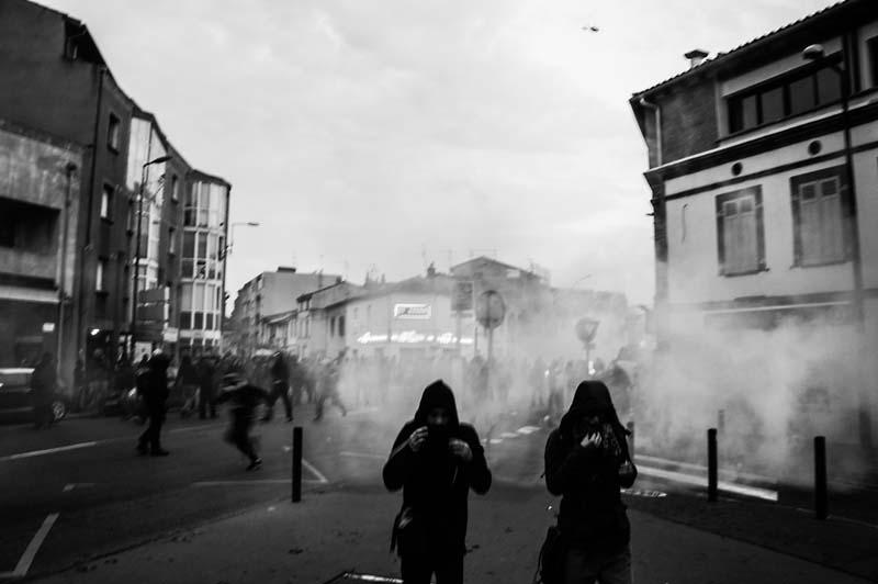 Toulouse - Avenue de Grande-Bretagne le 22 novembre 2014