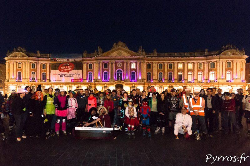 150 patineurs ont pris le départ du Carnaval de Roulez Rose