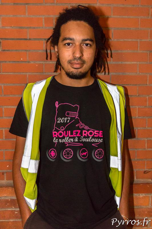 Le tee shirt 2017 de Roulez Rose