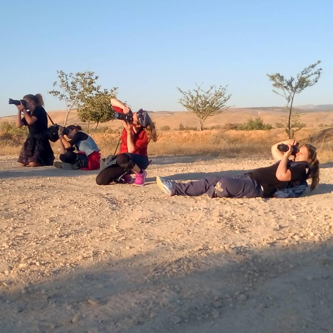 Les élèves de Ary Brami en pleine action