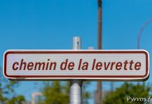 Le chemin de la levrette à Toulouse