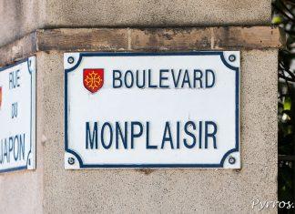Boulevard Monplaisir à Toulouse