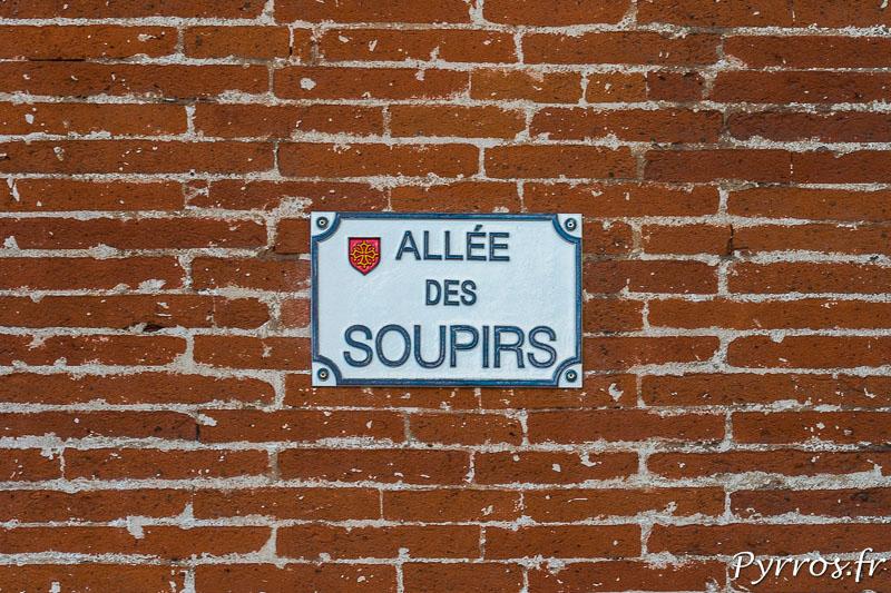 Allée des Soupirs à Toulouse