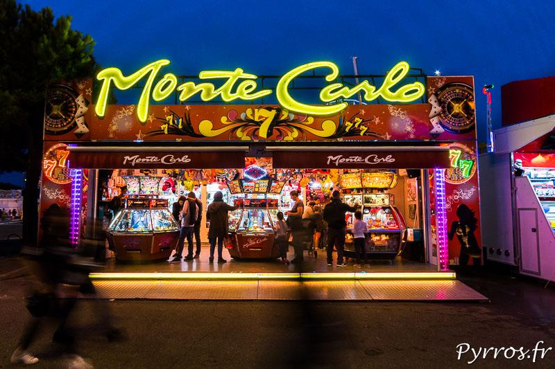 Le Monte Carlo est un des nombreux métiers qui proposent de tester la chance des visiteurs