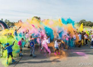 Les Hocklines proposent la Color My Roller autour du lac de la Ramée