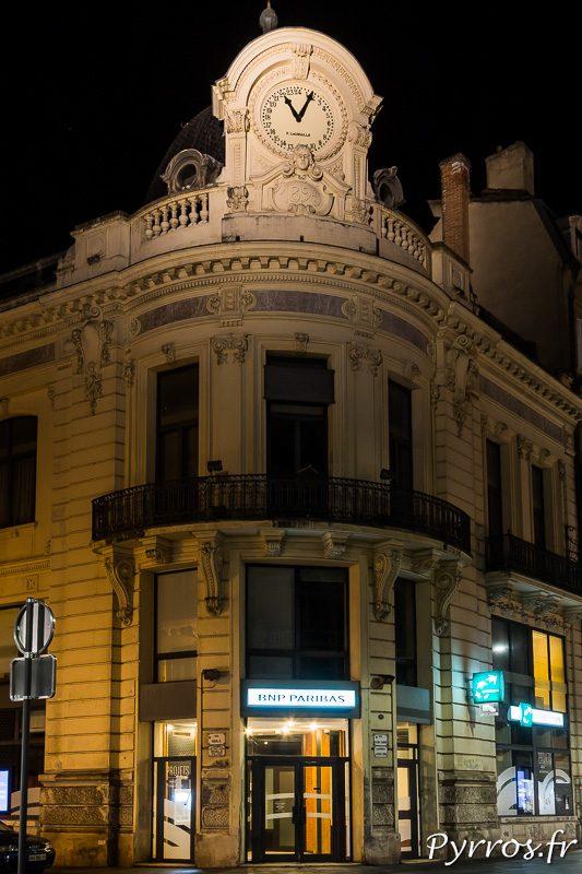 Horloge 24h rue Alsace Lorraine