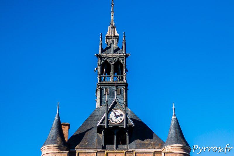 Cadran de l'horloge du Donjon du Capitole