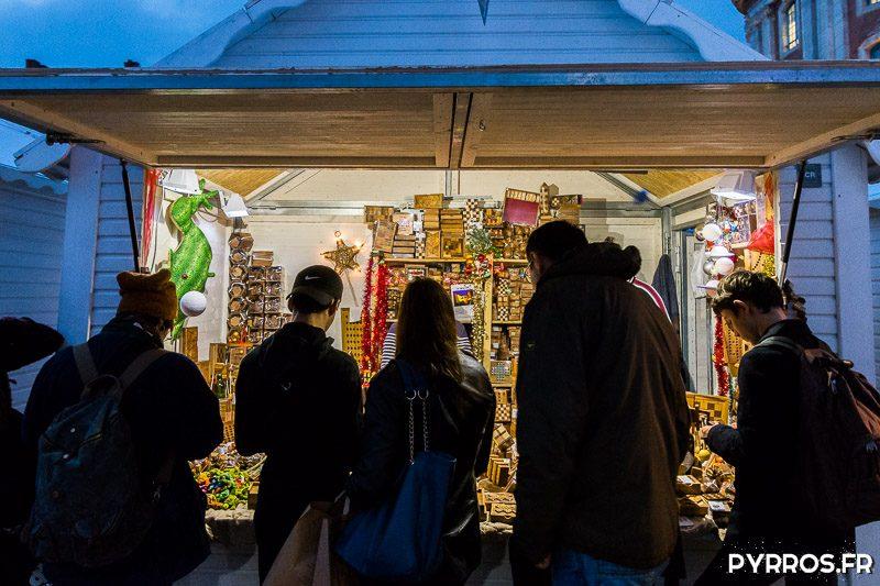 Les chalets du Marché de Noël de Toulouse accueillent les toulousains durant plus d'un mois